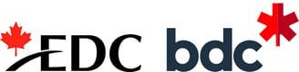 EDC logo and BDC logo