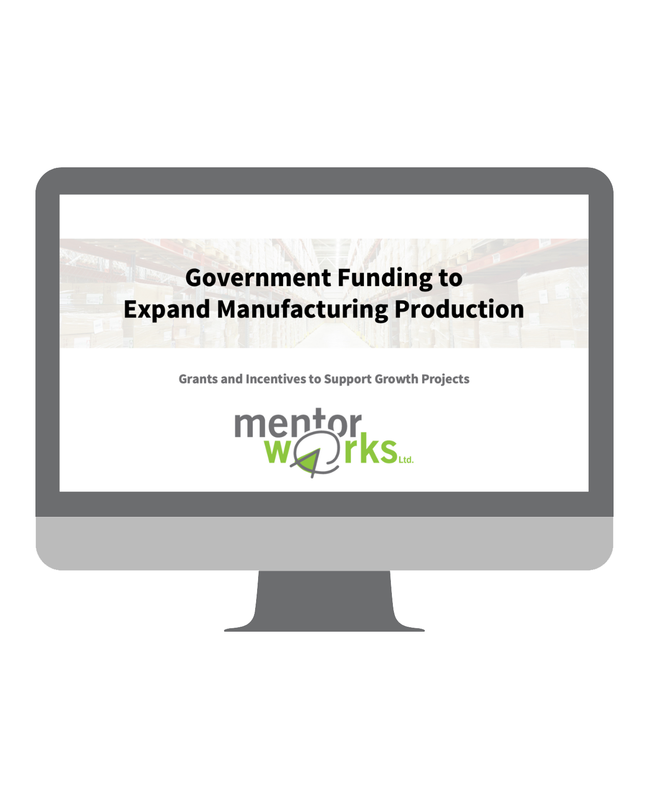 Government Funding to Expand Manufacturing Production