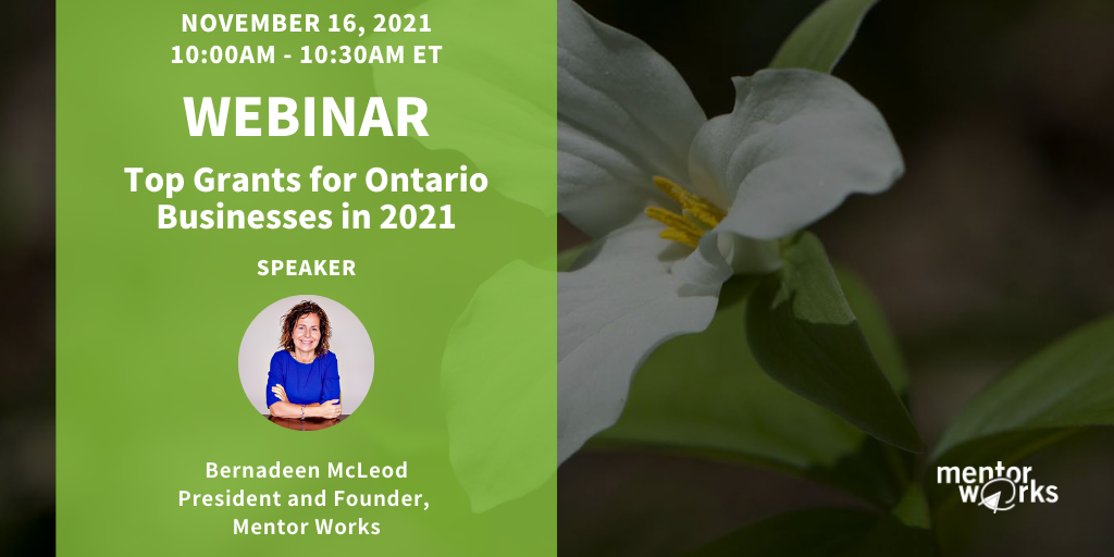 WBN 2021-11-16 Top Grants for Ontario Businesses in 2021 (1)